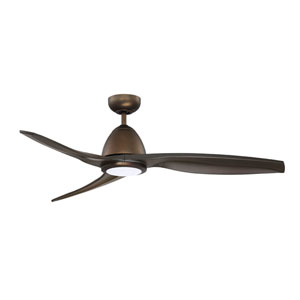Cylon 50-Inch Architectural Bronze LED Ceiling Fan