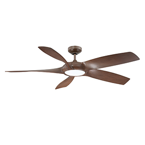 Blade Runner Russet Chestnut 54-Inch LED DC Motor Ceiling Fan