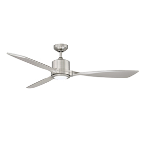 Altair Satin Nickel 60-Inch LED DC Motor Ceiling Fan