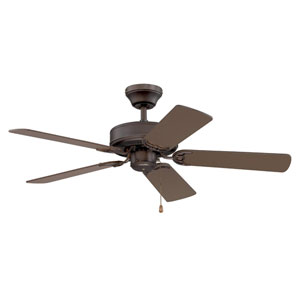 Builders Choice 42-Inch Oil Rubbed Bronze with Matching Blades Ceiling Fan