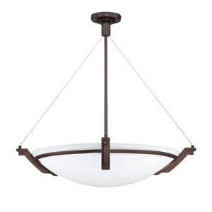 Portobello Oil Rubbed Bronze Six-Light 28-Inch Pendant