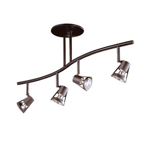 Sorella Oil Rubbed Bronze Four-Light 32.5-Inch Fixed Rail