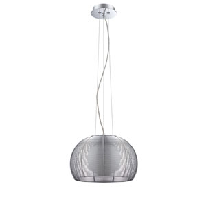 La Cage Chrome One-Light 12-Inch Pendant