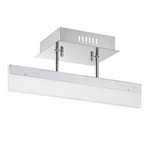 Strate Chrome LED Semi-Flush Mount