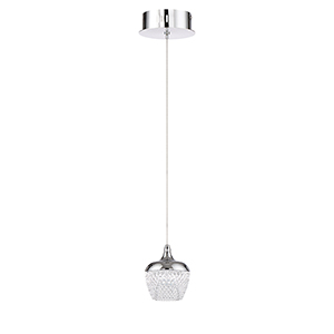 Arika Chrome LED Mini Pendant