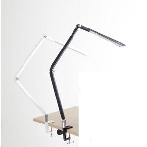 Ovo White One-Light LED Clamp Light