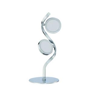 Milan Chrome Two-Light LED Task Lamp