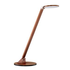 Roundo Russet Bronze LED Desk Lamp