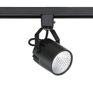 Black LED Track Head
