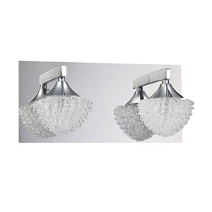 Icicle Chrome Two-Light Vanity