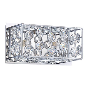 Palazzo Chrome Two-Light Vanity