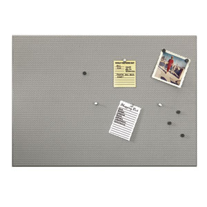 Nickel 15 x 21 Inch Bulletinboard