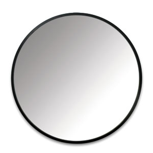 Hub 24 In. Round Wall Mirror