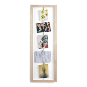 Clothesline Flip Photo Display