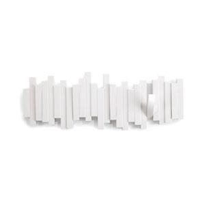 White Sticks Multiple Hook Coat Rack