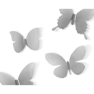 Mariposa Metal Wall Décor, Set of Nine