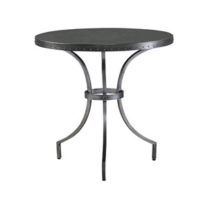 Curated Greystone Eliston Round End Table