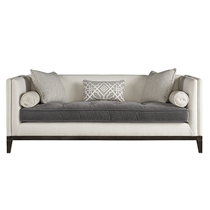 Hartley Off White and Beige 83-Inch Sofa