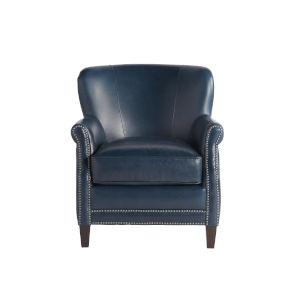 Eden Blue 33-Inch Chair