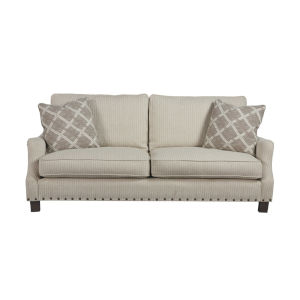 Tucker Beige 82-Inch Sofa