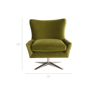 Everette Green 31-Inch Chair