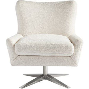 Everette White 31-Inch Chair