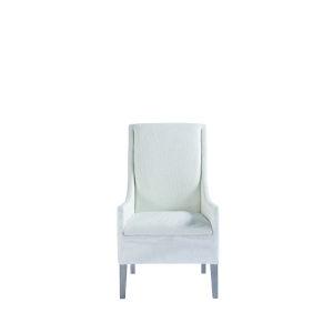 Midtown Flannel Host Arm Chair