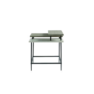 Midtown Flannel End Table