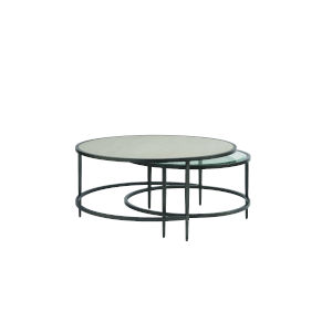 Midtown Flannel Nesting Table