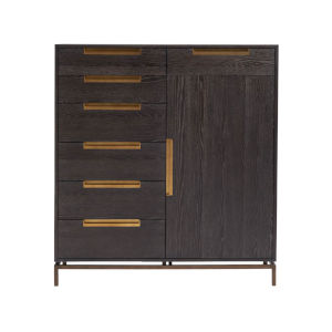 Onyx Gable Dressing Chest