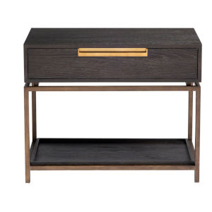 Onyx Gable Night Table