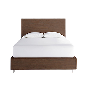 Tanner Brown Complete Queen Storage Bed