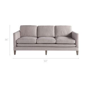 Kingsley Gray 83-Inch Sofa