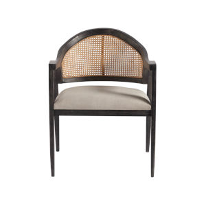 Dexter Onyx Polyester Accent Chair