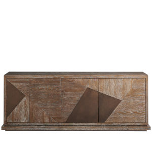 Divergence Charcoal 80-Inch Entertainment Console