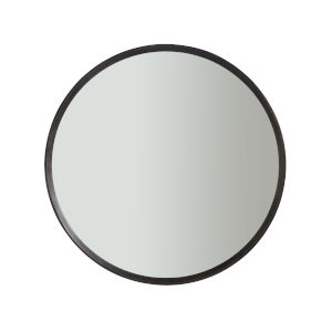 Nina Magon Bronze Metal Round Mirror