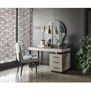 Nina Magon Sand Laquer Writing Desk