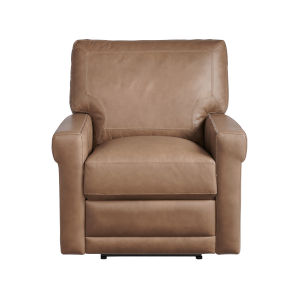 Olsen Brown Moore Giles Leather Motion Chair