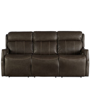 Watson Dark Bronze Moore Giles Leather Motion Sofa