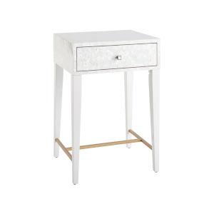 Miranda Kerr Love Joy Bliss White Lacquer Bedside Table