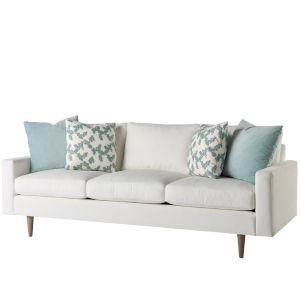 Miranda Kerr Brentwood White Lacquer 3-Seater Sofa