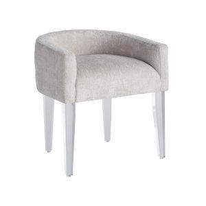 Miranda Kerr Love Joy Bliss Champagne and Lucite Vanity Chair
