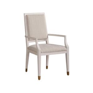 Miranda Kerr Love Joy Bliss Alabaster and Pewter Dining Chair, Set of 2