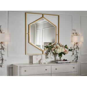 Miranda Kerr Love Joy Bliss Soft Gold Wall Mirror