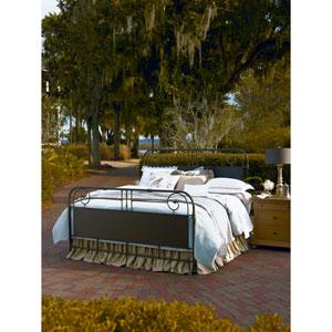 Garden Gate King Metal Bed