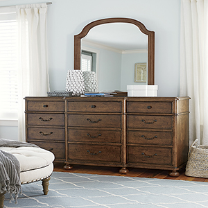 Dogwood Brown Dresser
