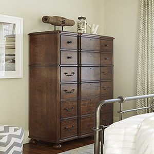 Dogwood Brown Drawer Chest