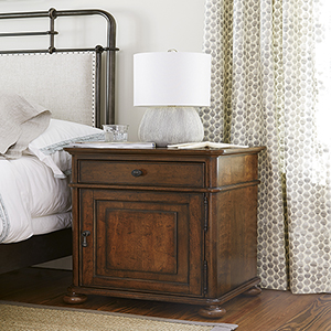 Dogwood Brown Door Nightstand