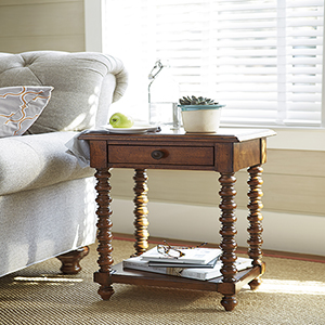 Dogwood Brown Side Table