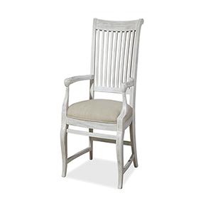 Dogwood White Arm Chair